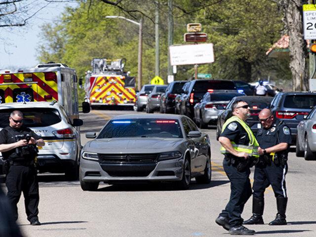 EEUU: sujeto fallece en medio de un tiroteo en escuela secundaria