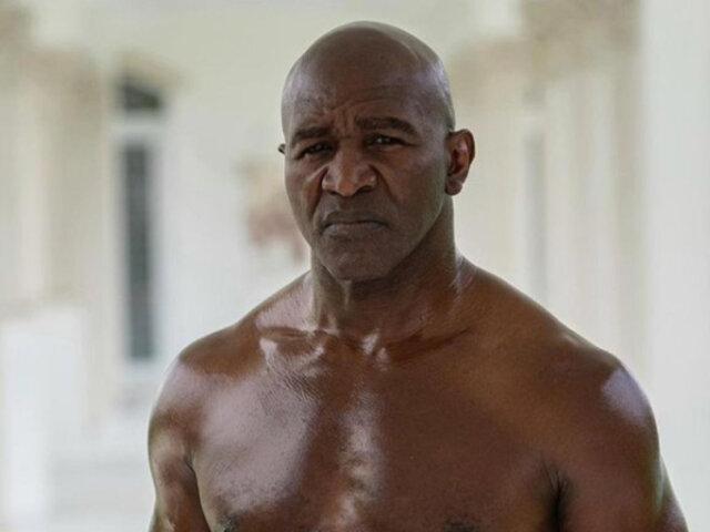 Evander Holyfield: ex campeón mundial del box vuelve a los cuadriláteros a sus 58 años