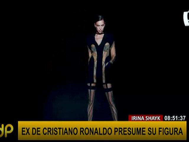 Irina Shayk, ex de Cristiano Ronaldo, aparece en infartante sesión de fotos