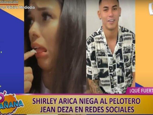 Picantitas del espectáculo: Shirley Arica ningunea a Jean Deza a través de sus redes sociales