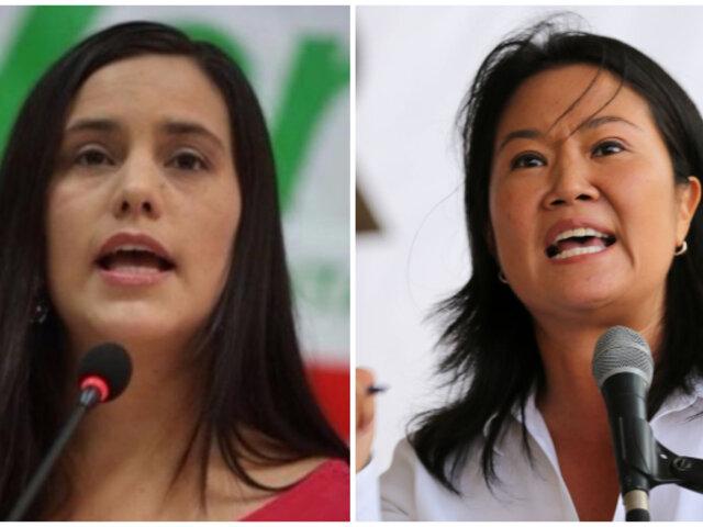 """Verónika Mendoza descarta alianza con FP: """"no hay posibilidad de diálogo ni de negociación"""""""
