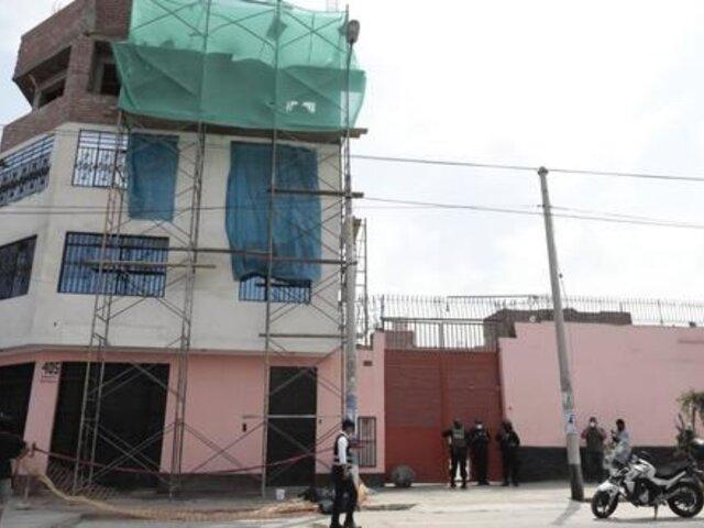 Obrero muere tras caer de andamio del cuarto piso en La Victoria