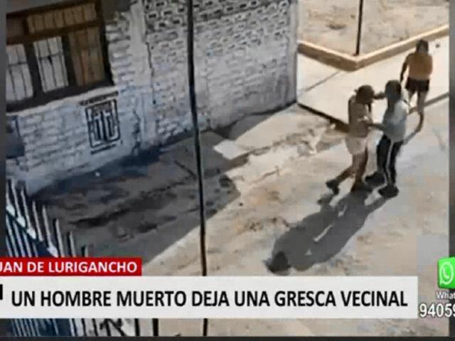 San Juan de Lurigancho: joven terminó muerto en confusa gresca vecinal