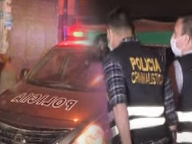 Puente Piedra: Joven es asesinado de un disparo en la cabeza por robarle su celular
