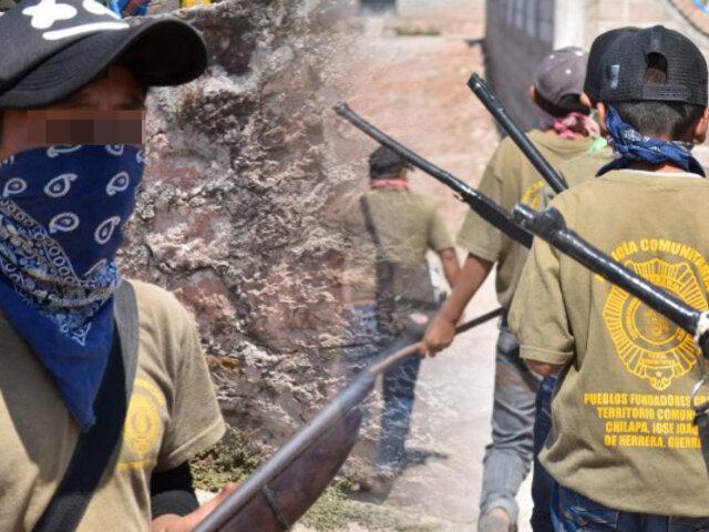 México: Niños armados se preparan para defenderse de narcos