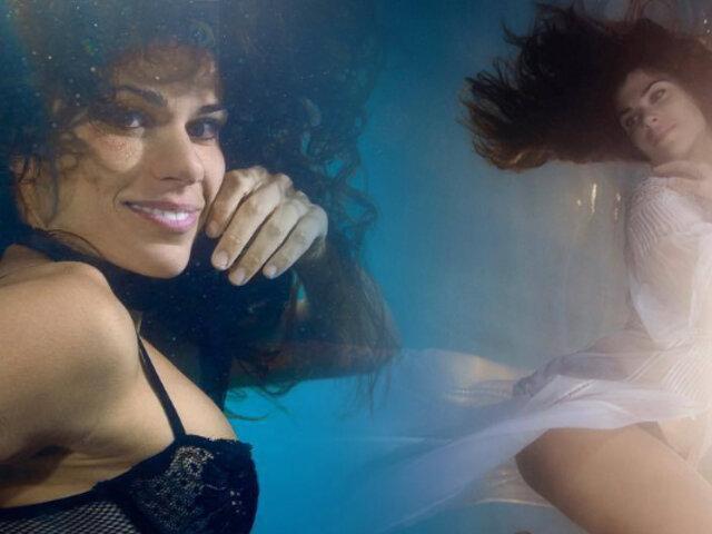 Conozca a la bailarina que crea coreografías bajo el agua