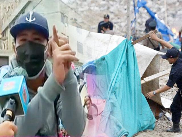 Morro Solar: invasores se manifiestan tras ser desalojados