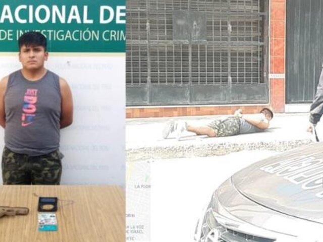 Policía sufre asalto, atrapa a delincuente y se entera que era miembro de la PNP