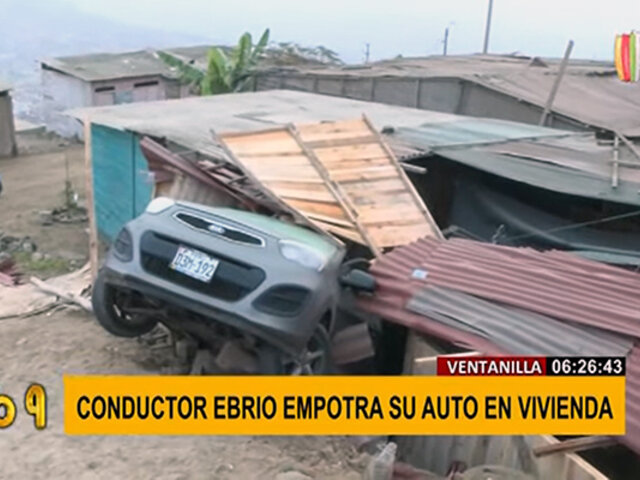 Ventanilla: familia pide apoyo para reconstruir vivienda que conductor ebrio destruyó