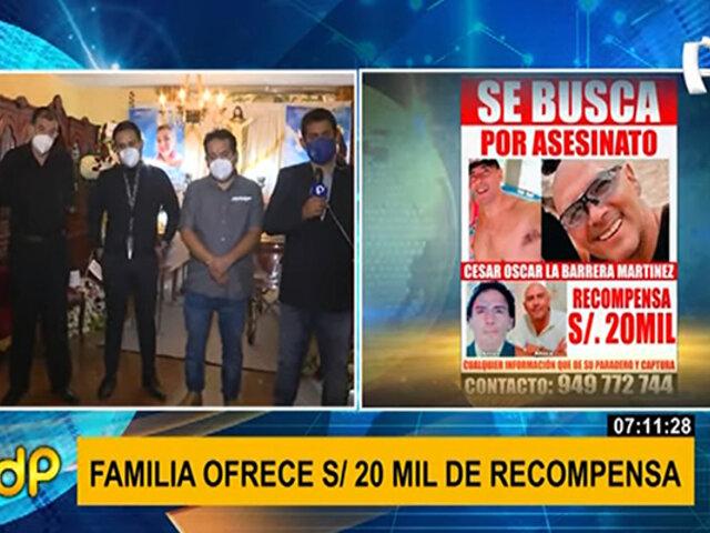 Ofrecen S/. 20 mil de recompensa por sujeto que habría asesinado a mujer y su hija