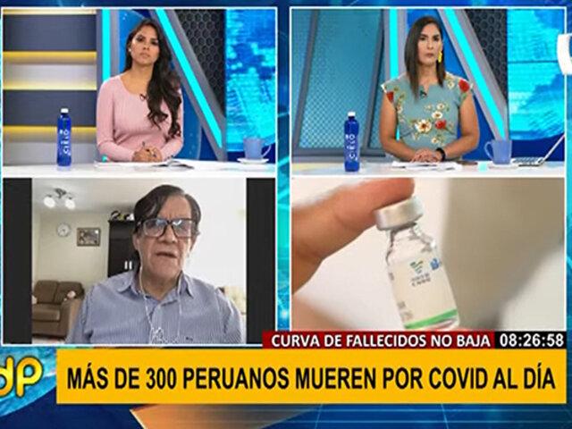"""Maguiña sobre segunda ola COVID-19 en Perú: estamos ante """"un desastre sanitario"""""""