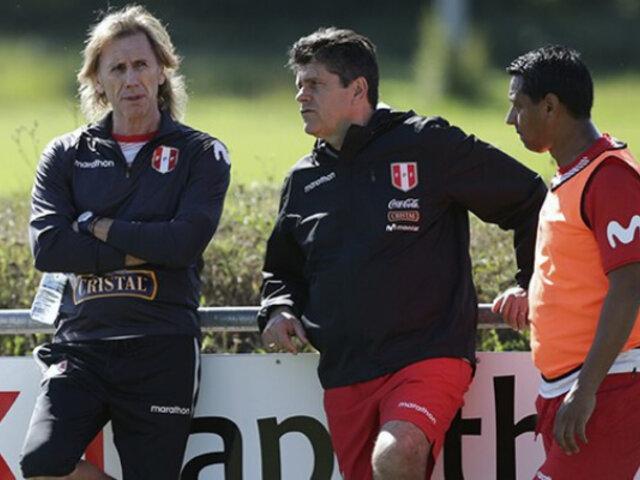 Selección Peruana: Gareca y su comando técnico evalúan convocatoria para Copa América