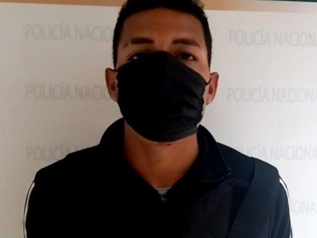 Capturan a delincuente que disparó a policía durante intervención en Ventanilla