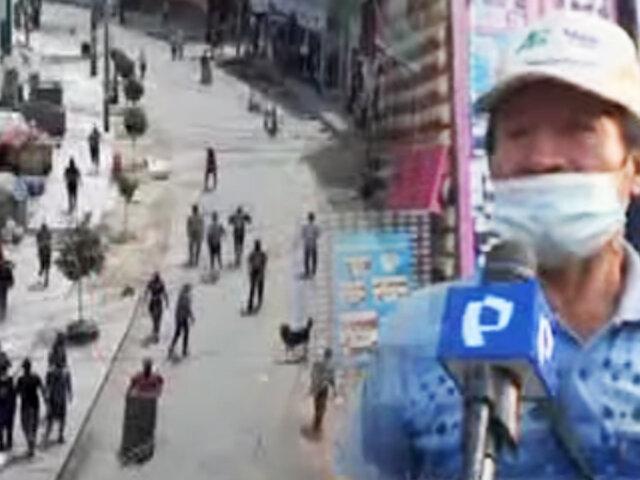 """Ate: Vecinos y transeúntes de """"Ceres"""" viven atemorizados por la delincuencia"""