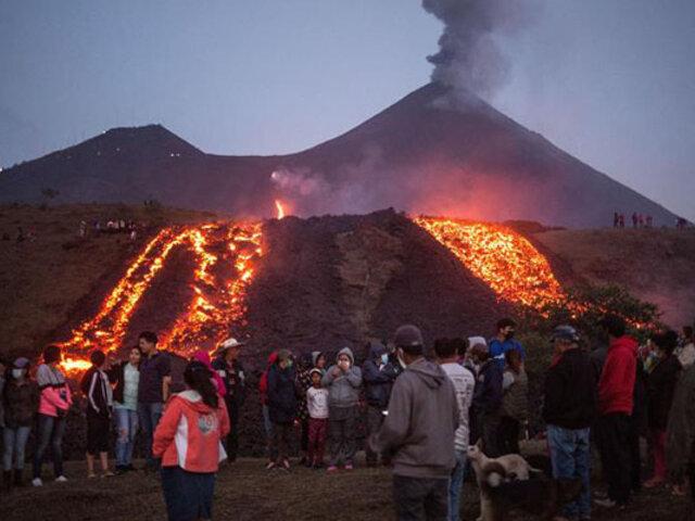 Guatemala: varias comunidades resultaron afectadas por las corrientes de lava del volcán Pacaya