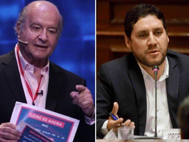 De Soto desmiente a Paredes Terry y niega haber pedido PCM y 5 ministerios