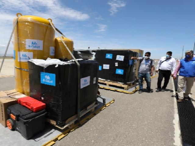 Piura: EsSalud envían dos nuevas plantas de oxígeno medicina para el Hospital II de Talara
