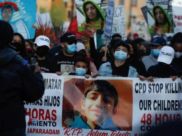 EEUU: protestas por asesinato de niño hispano de 13 años a manos de la policía