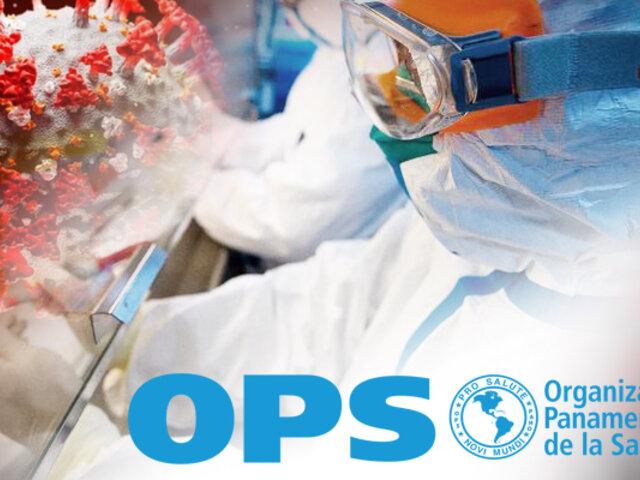 OPS alerta por picos de contagios y muertes por COVID-19 en Sudamérica