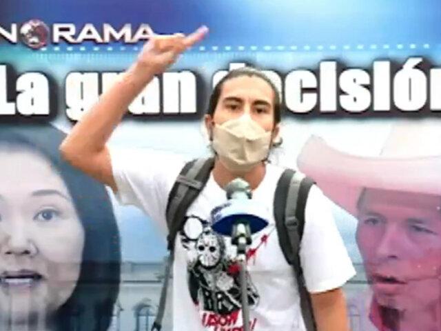 Sepa qué opinan los peruanos de los candidatos que se enfrentarán en la segunda vuelta