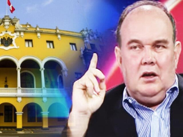 "Rafael López Aliaga: ""Voy a postular a la alcaldía de Lima"""