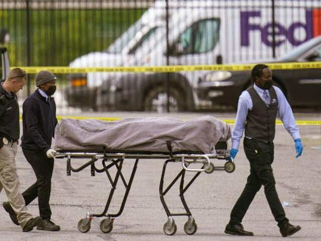 Estados Unidos: 8 personas mueren en tiroteo en Indianápolis