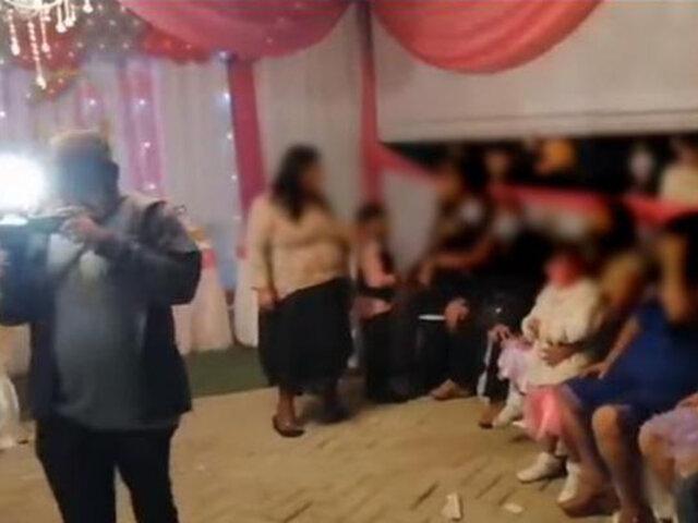 Tumbes: intervienen a 50 personas que participaban de fiesta pese a restricciones por Covid-19