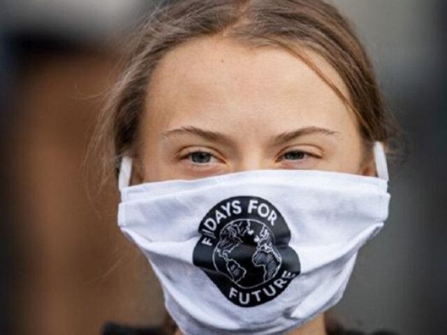 Covid-19: Greta Thunberg dona dinero para luchar contra desigualdad de vacunación