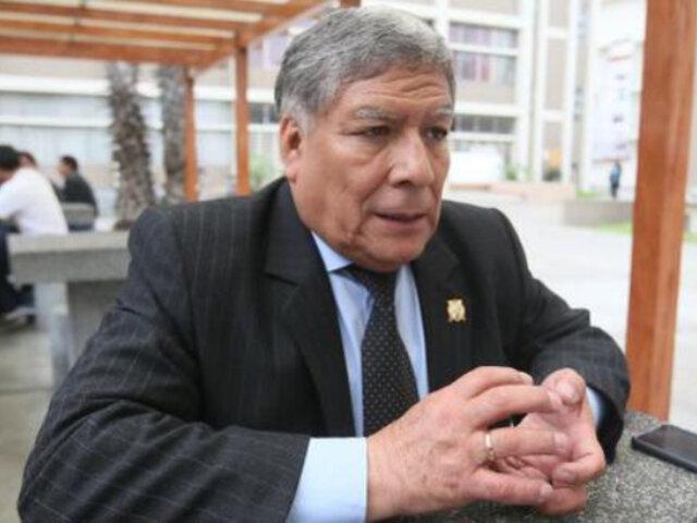 """UNMSM: rector se encuentra en un """"delicado estado de salud"""" a causa del covid-19"""