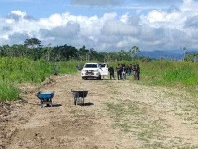 San Martín: intervienen pista de aterrizaje usada por avionetas vinculadas al narcotráfico