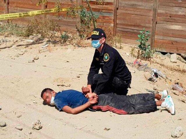 Puente Piedra: policía en su día de franco captura a dos  ladrones tras feroz balacera