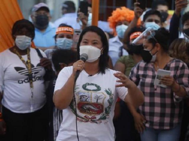 """Keiko Fujimori a Evo Morales: """"Usted no se meta en mi país, fuera del Perú"""""""