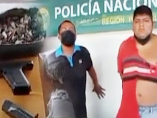 """PNP captura a """"Timón y Pumba"""" por microcomercializar droga en Ate"""