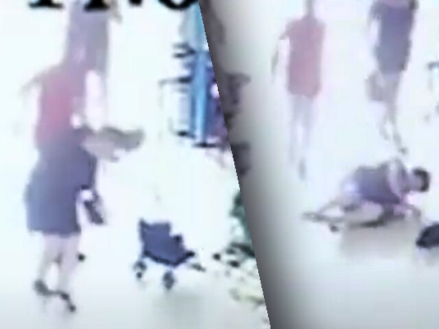 Cercado de Lima: ladrón lanza al suelo a una anciana para robarle su celular