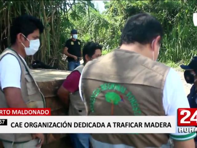 Puerto Maldonado: cae banda integrada por ex funcionarios regionales