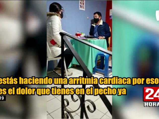 Cajamarca: detienen a falso médico que atendía pacientes COVID-19