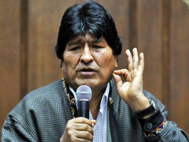 ¿Le favorece o no respaldo de Evo Morales al candidato Pedro Castillo?