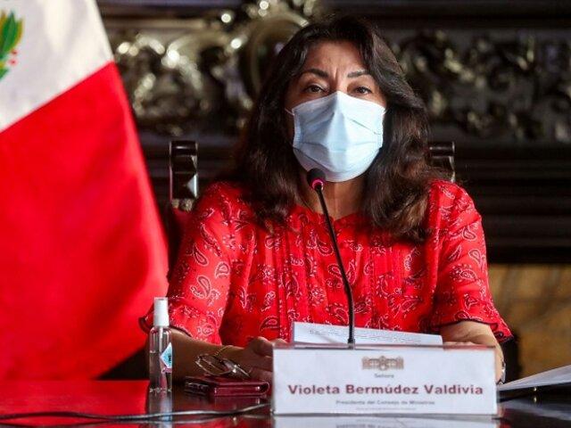 Gobierno informará esta noche nuevas medidas frente a la pandemia