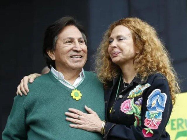 Gobierno peruano aprobó extradición de Toledo y Eliane Karp de EEUU