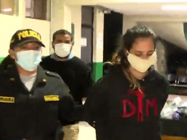San Miguel: detienen a pareja que asaltaba con ametralladora mini-Uzi
