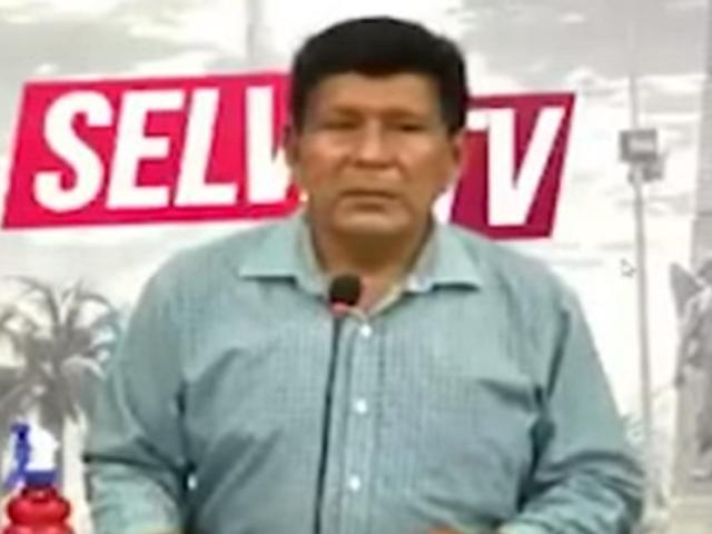 Iquitos: suspenden programa de Tv en el que en el que se hizo apología al terrorismo