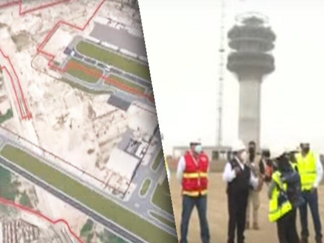 MTC supervisa obra de ampliación del Aeropuerto Internacional Jorge Chávez