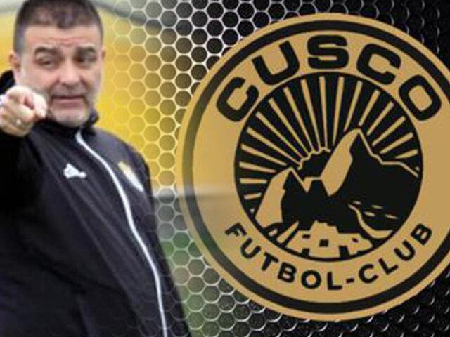 Claudio Vivas es el nuevo DT de Cusco FC