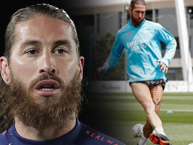 Sergio Ramos: el capitán del Real Madrid superó al COVID-19