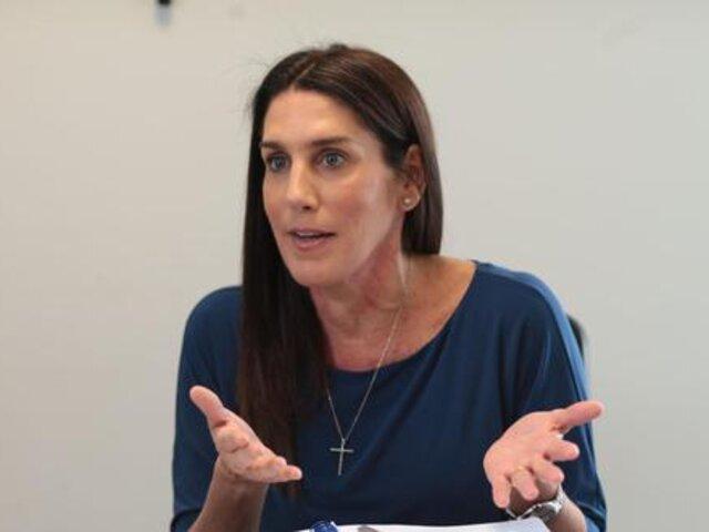 Congreso: Partido Morado retira a Carolina Lizárraga de Comisión TC