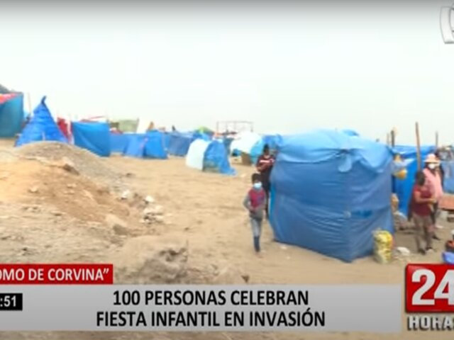 Lomo de Corvina: terreno invadido es altamente peligroso