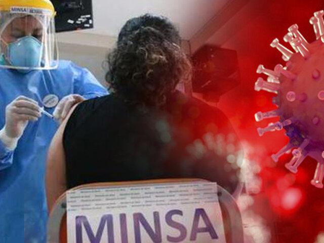 Vacuna Covid-19: más de 7 millones 624 mil peruanos ya recibieron primera dosis