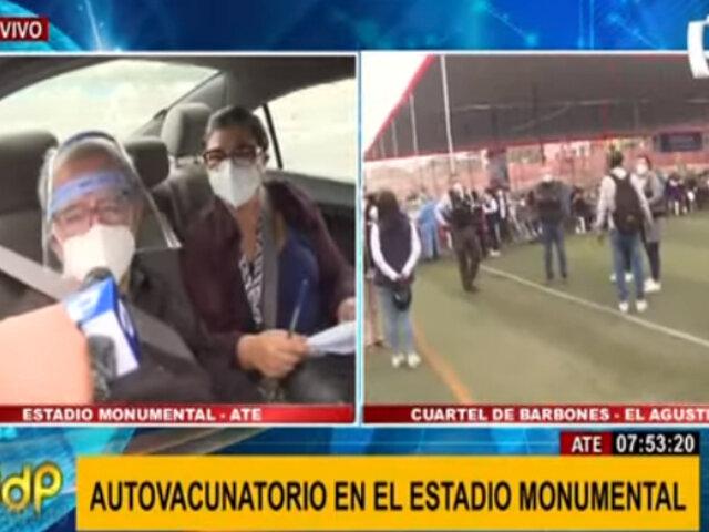 Adultos mayores: así se desarrolla la segunda etapa de vacunación en distritos de Lima