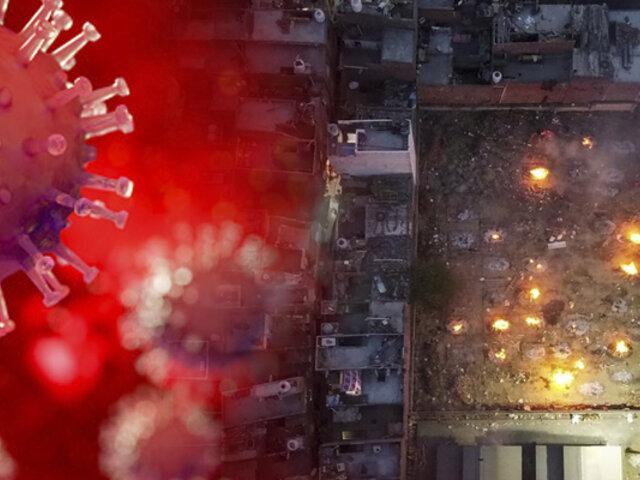 India: fallecidos por COVID-19 son cremados en la calle