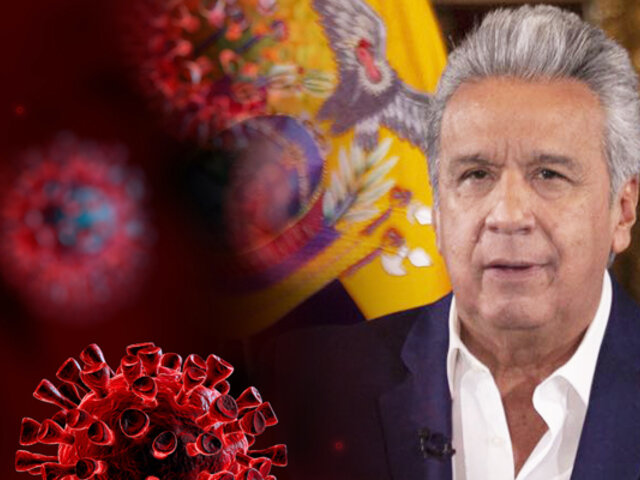 Ecuador decreta el estado de excepción y toque de queda